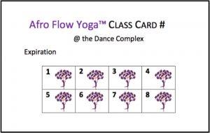 AFY CLASS CARD